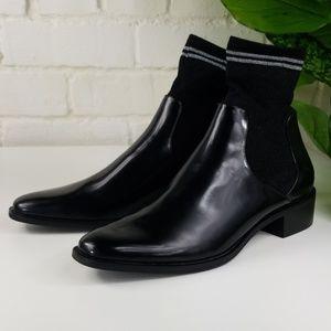 Zara Oxford With Integrated Glitter Sock